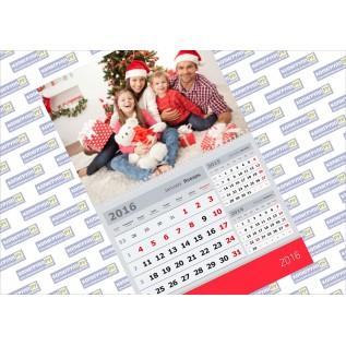 Печать карманных календарей, печать перекидных календарей, печать календарей-плакатов