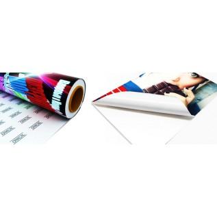 Печать на самоклеющейся пленке, широкоформатная печать на пленке